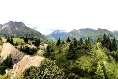 Die Naturidylle von Oberlech ist reich an weiteren Kraftplätzen.